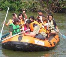 ล่องเรือยาง เรือยาง ล่องเรือ กิจกรรม วิมานน้ำรีสอร์ท รีสอร์ท บ้านพัก ที่พัก ห้องพัก เพชรบุรี